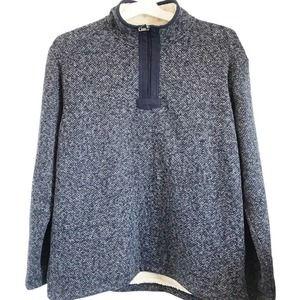 Orvis Brighton Quarter Zip Sherpa Pullover Sweater